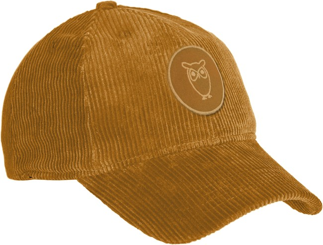 Casquette velours moutarde en coton bio - Knowledge Cotton Apparel