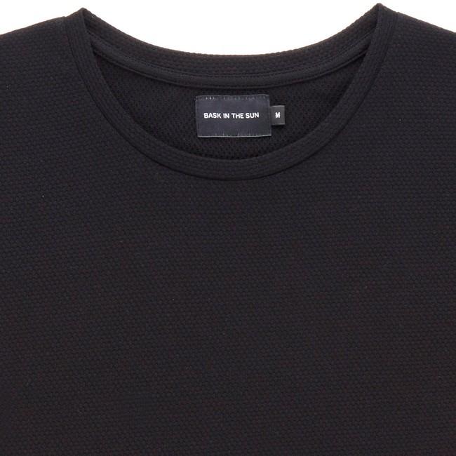 T-shirt en coton bio black gamiz - Bask in the Sun num 1