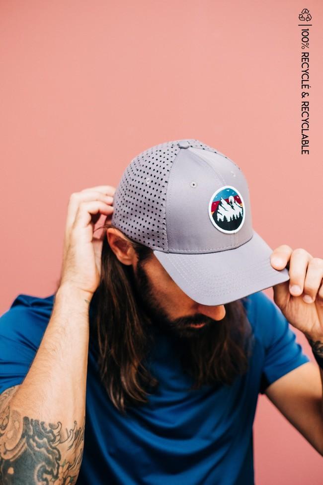 Wild cap - casquette technique recyclée [grey sunset] - Nosc
