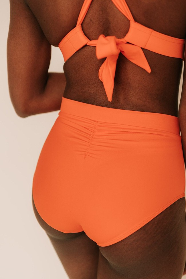 Piha Beach - le bas - orange ethnico - Maline num 3