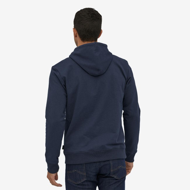 Sweat à capuche gris en polyester et coton recyclé - p6 logo uprisal hoody - Patagonia num 2