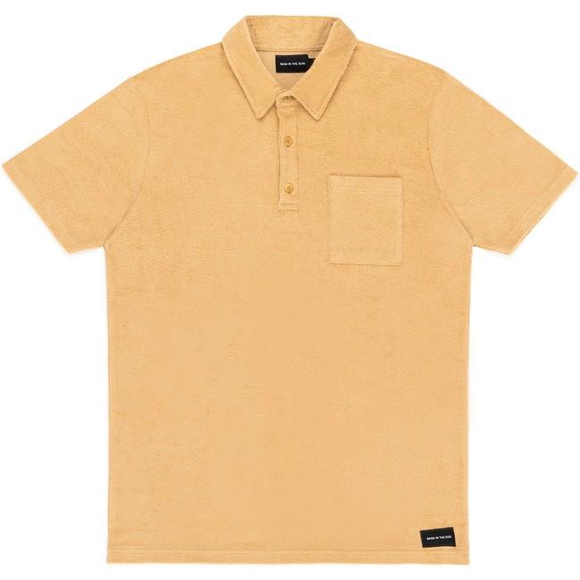 Polo en coton bio sand xan - Bask in the Sun