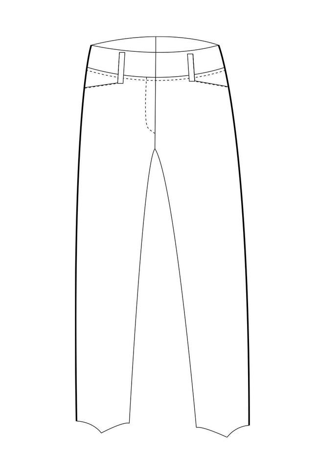 Pantalon tailleur new-york - 17h10 num 2