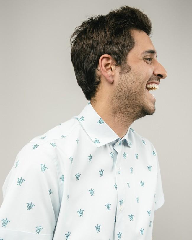Turtle with love printed shirt - Brava Fabrics num 4