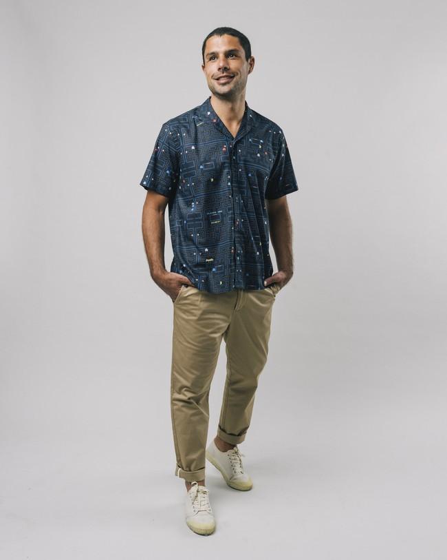 Maze pac-man™ x brava aloha shirt - Brava Fabrics num 3