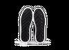Chaussure semelle pneu recyclé cuir navy - gravière - Oth - 4