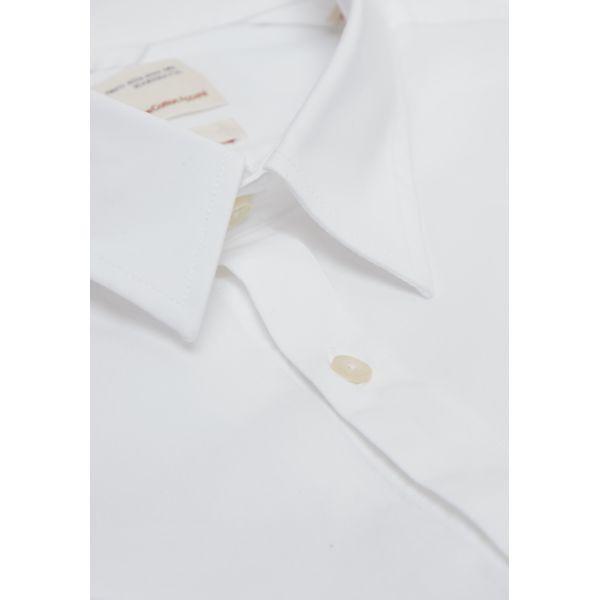 Chemise blanche en coton bio - Knowledge Cotton Apparel num 3