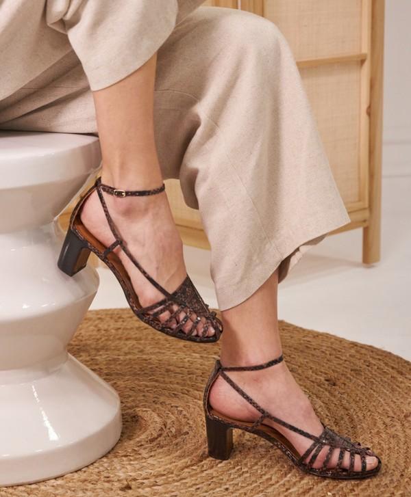 Sandales brune - Etre amis