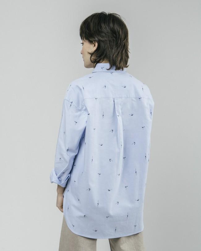 Vintage swimmer oversized blouse - Brava Fabrics num 5