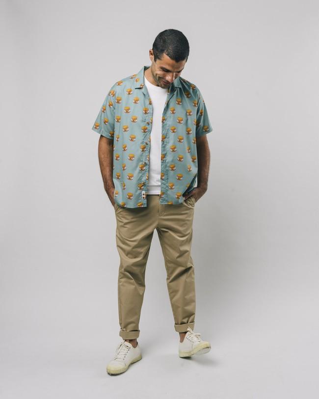 Tiger brava aloha shirt - Brava Fabrics num 3