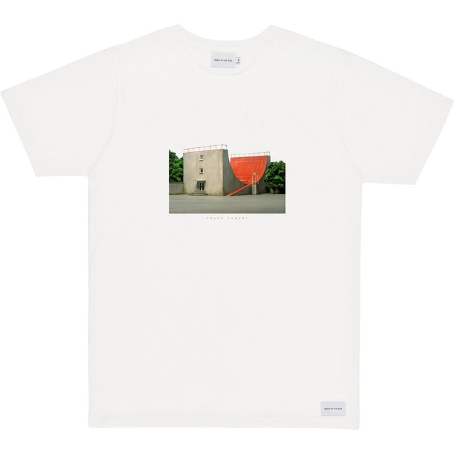 T-shirt en coton bio white tennis - Bask in the Sun
