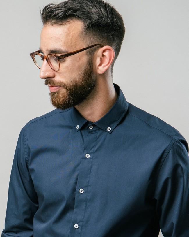 Navy tile essential shirt - Brava Fabrics num 3