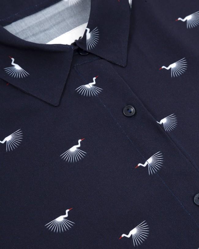 Japanese sky printed blouse - Brava Fabrics num 2