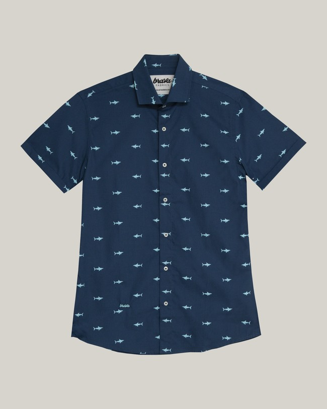 Sharks printed shirt - Brava Fabrics num 2