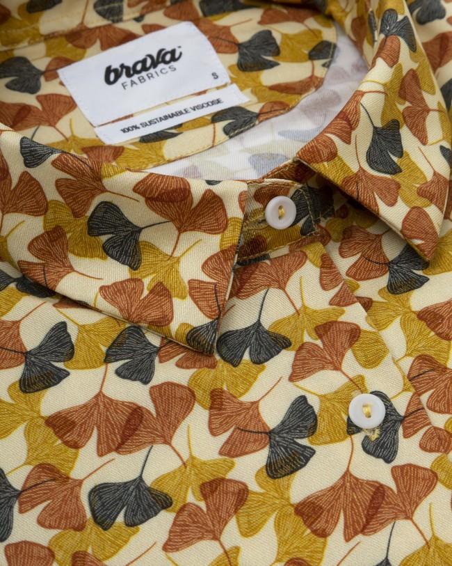 Ginkgo printed blouse - Brava Fabrics num 2