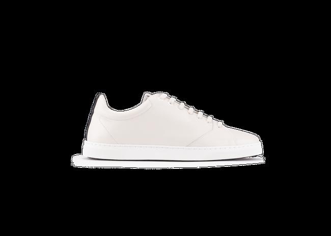 Chaussure en gravière cuir crème / semelle blanc - Oth num 3