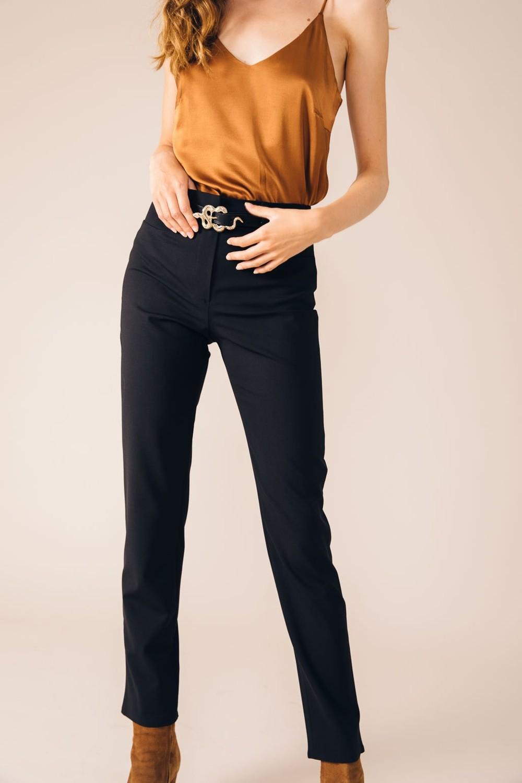 Pantalon tailleur new-york noir - 17h10