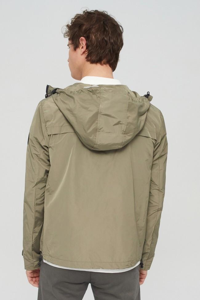 Veste kaki en polyester recyclé et sorona - dalven nautic - Ecoalf num 2