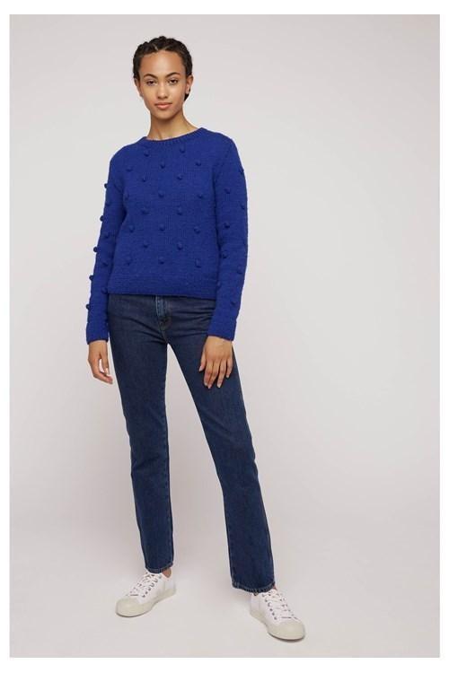 Pull bleu en laine - gigi - People Tree num 3