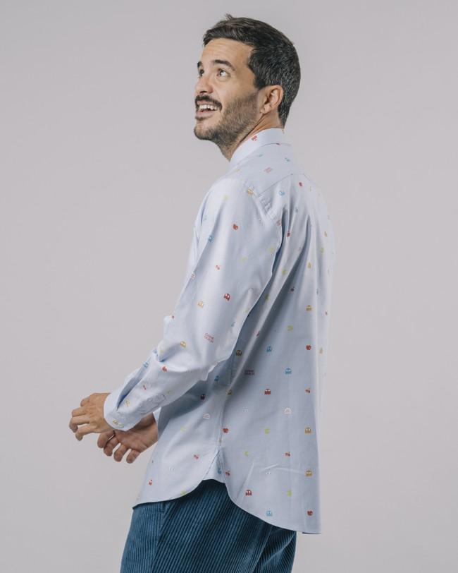 Oxford-shirt pac-man™ x brava - Brava Fabrics num 7