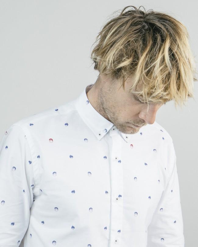Printed shirt akito - Brava Fabrics num 4