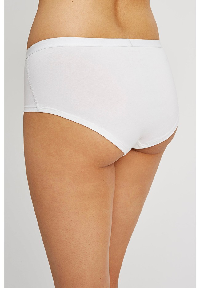 Shorty blanc en coton bio - People Tree num 2