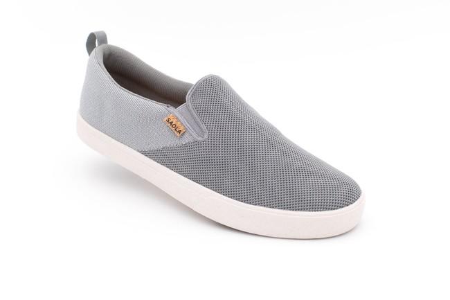 Chaussures recyclées havasu knit dark grey - Saola num 2