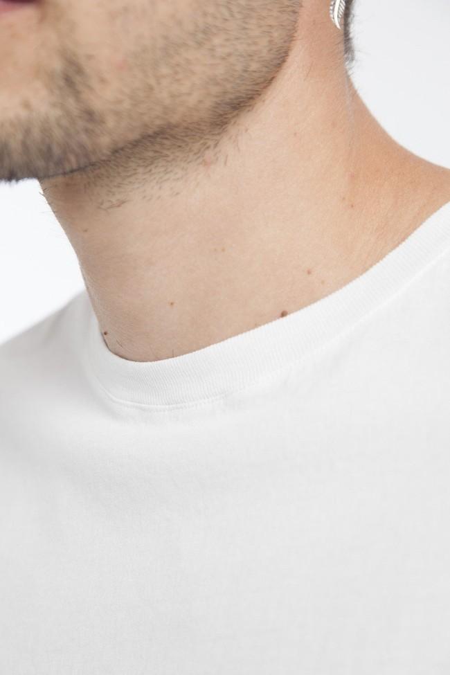 T-shirt blanc siesta en coton biologique - Thinking Mu num 3