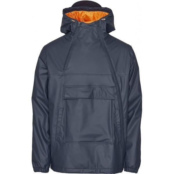 Anorak marine en polyester recyclé - Knowledge Cotton Apparel num 0