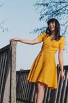 La Robe Pia - jaune - Atelier Unes