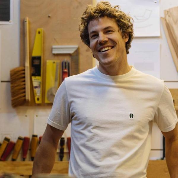 T-shirt recyclé - classique white - Hopaal num 2