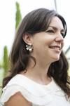 Boucles d'oreilles fleur murraya - argent recyclé - Elle & Sens - 5