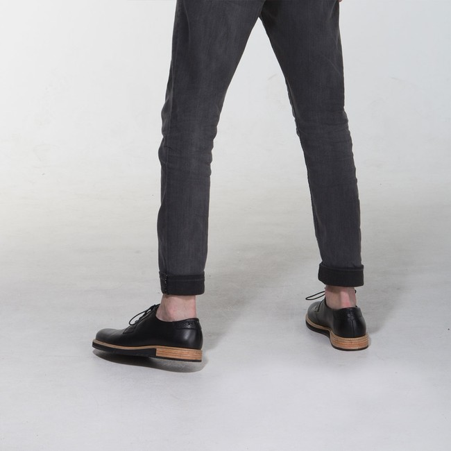 Derbies alpha low - noir - Subtle num 7