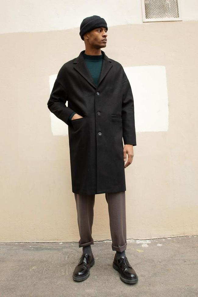 Manteau genoa laine & cachemire - Noyoco num 18