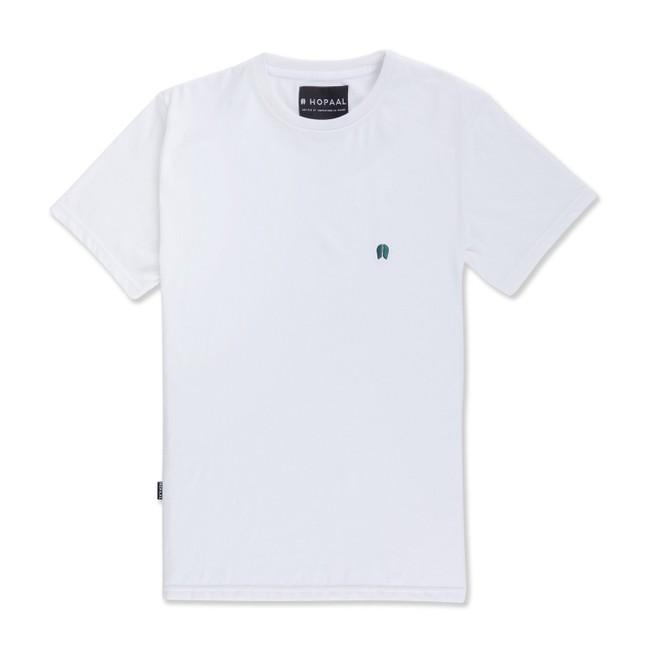 T-shirt recyclé - classique white - Hopaal
