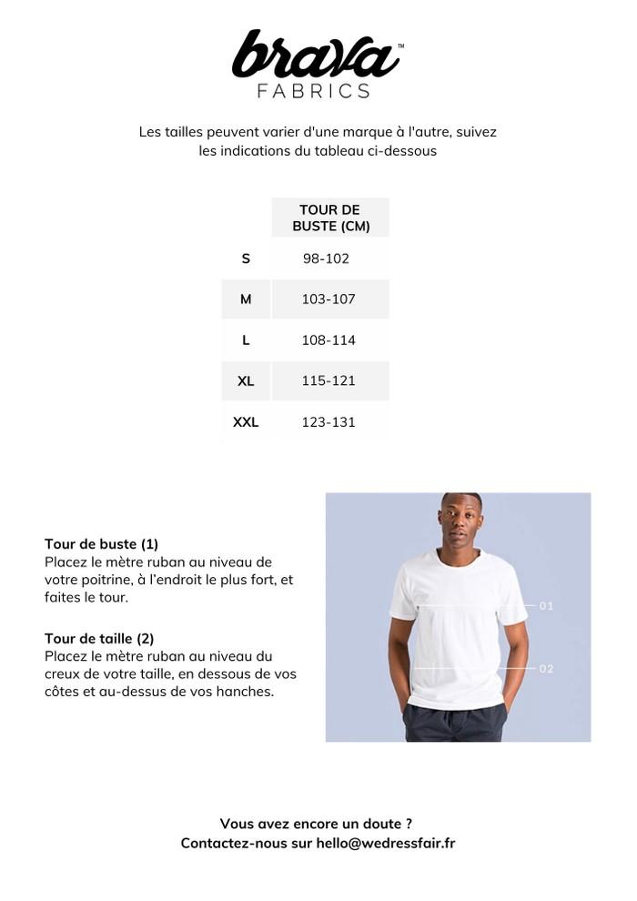Guide de taille Brava Fabrics