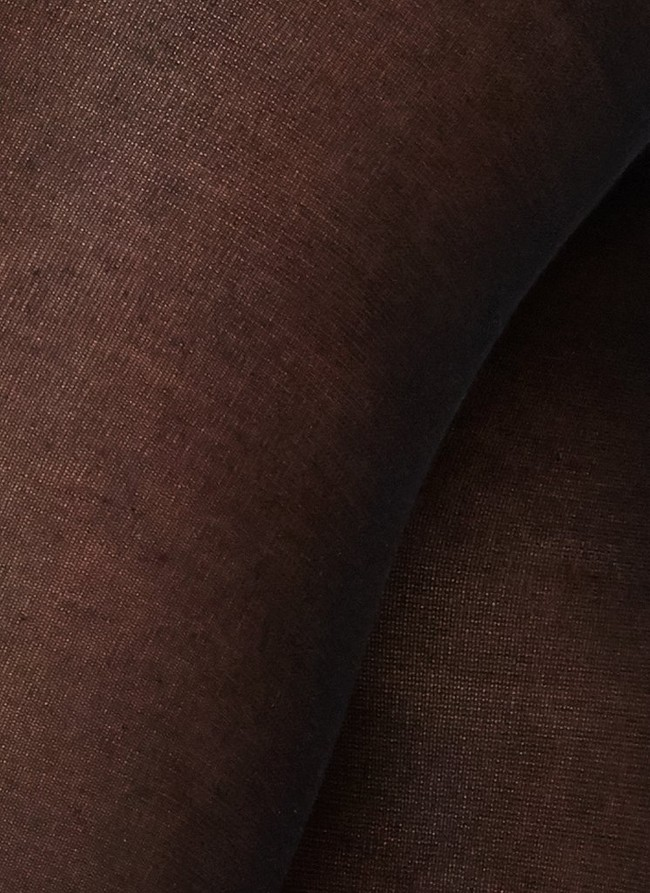 Collants semi-opaques noirs en coton bio et matière recyclée - stina - Swedish Stockings num 2