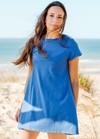 Teahupoo dress - blue - Shak & Kai - 1