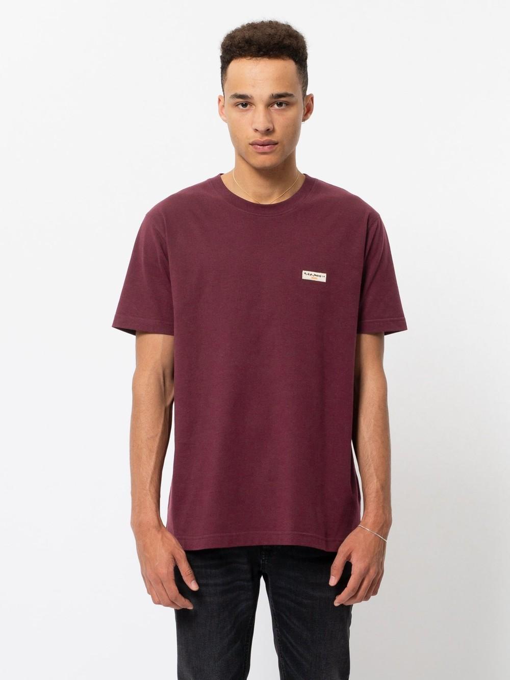 T-shirt figue en coton bio - daniel - Nudie Jeans