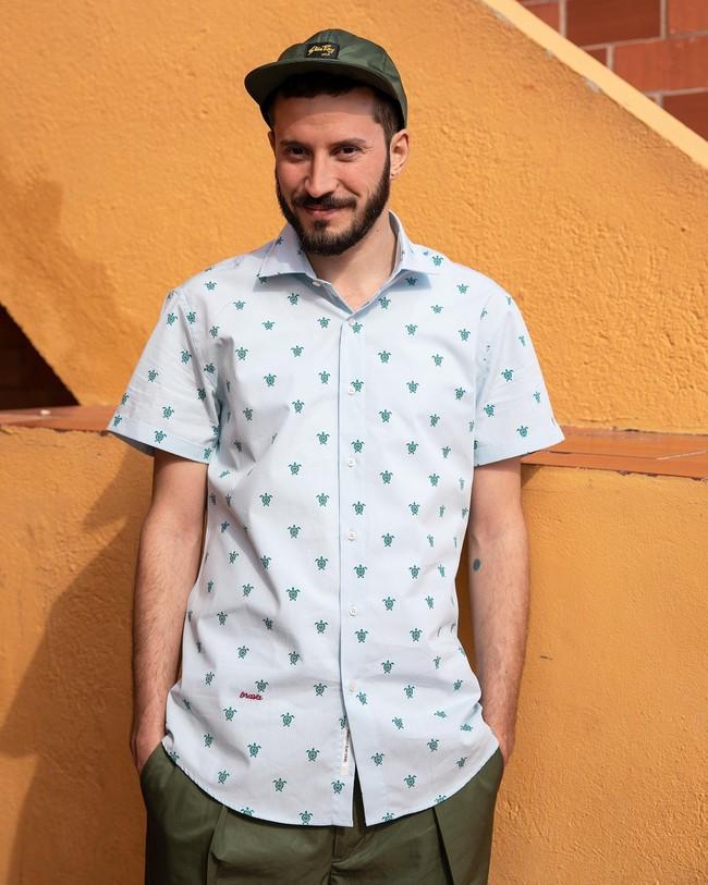 Turtle with love printed shirt - Brava Fabrics num 6