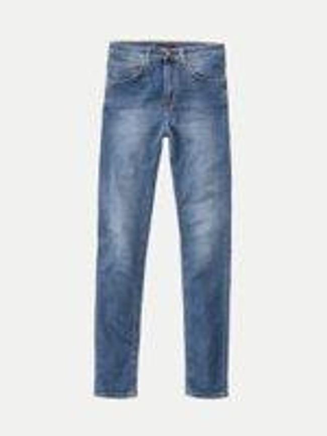 Jean skinny taille haute bleu clair délavé - hightop tilde mid indigo - Nudie Jeans num 6
