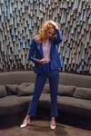 Pantalon tailleur new-york bleu roi - 17h10 - 4