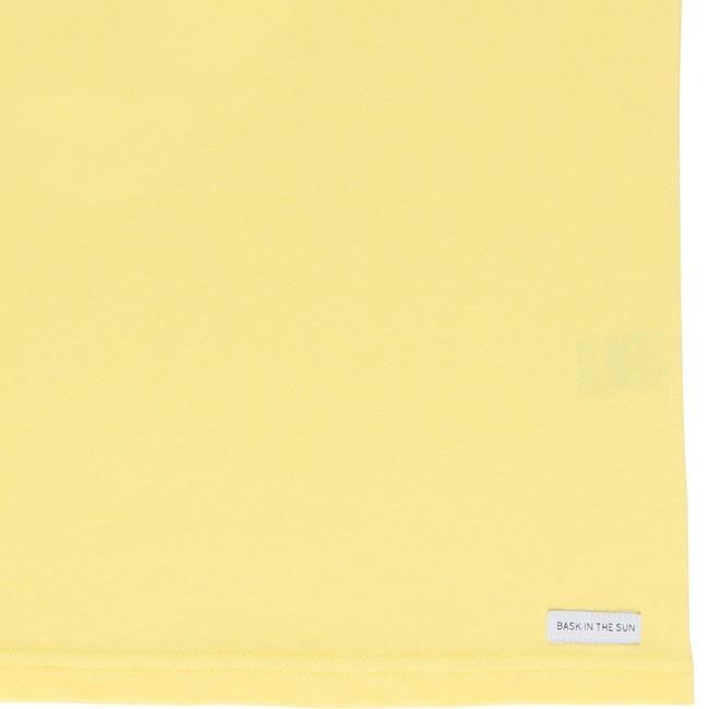 T-shirt en coton bio yellow creature - Bask in the Sun num 3