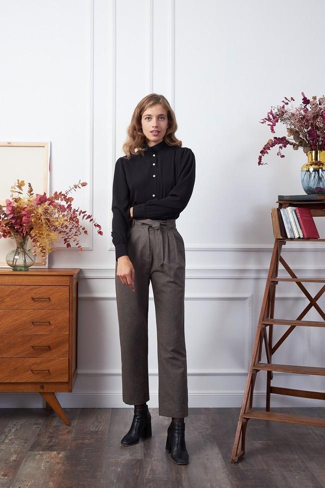 Pantalon krabe tweed - Les Récupérables