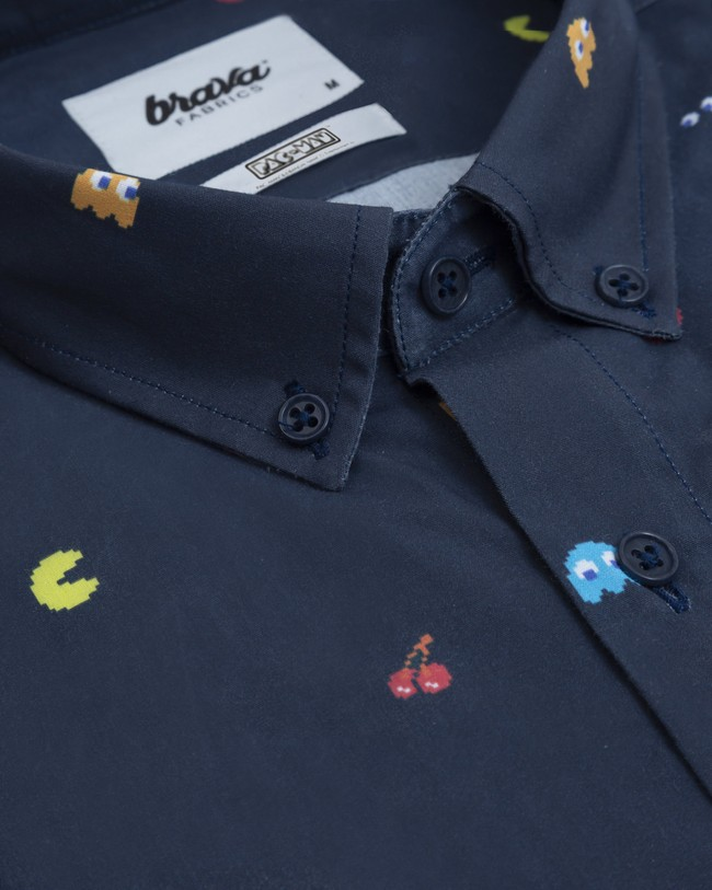 Printed shirt pac-man™ x brava - Brava Fabrics num 2
