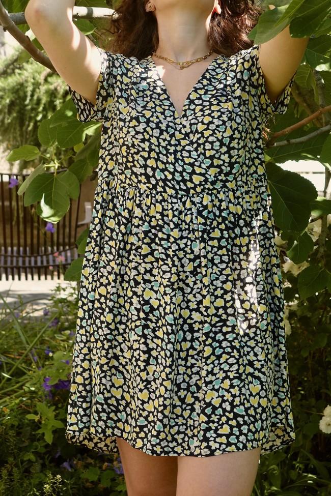 Robe faustine courte - Alfa num 4