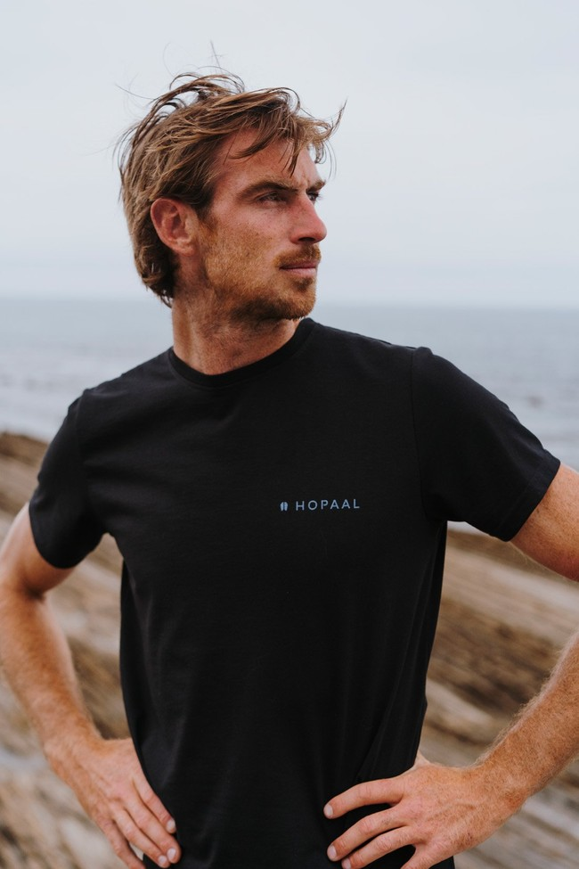 T-shirt recyclé - topo stream - Hopaal num 2