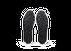 Chaussure en glencoe cuir blanc / suède gris clair - Oth - 5