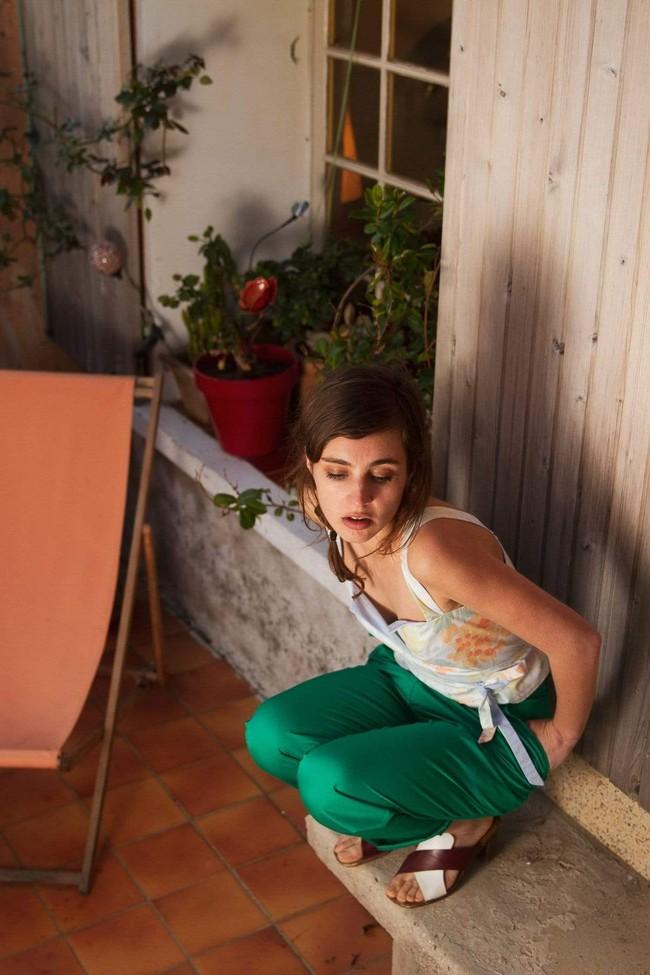 Pantalon krabe paradis vert - Les Récupérables num 2