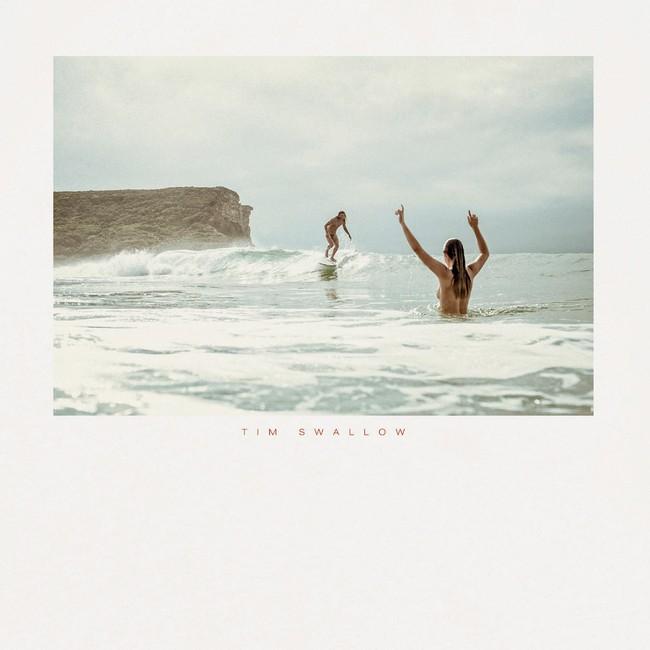 T-shirt en coton bio natural surf naked - Bask in the Sun num 2